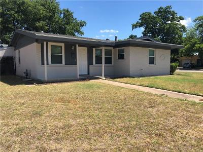 Fort Worth Single Family Home For Sale: 1109 Glasgow Road