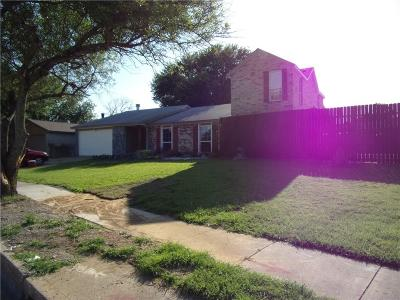 Garland Single Family Home For Sale: 1901 Lore Way