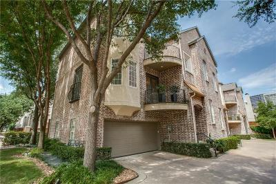 Dallas Townhouse For Sale: 3939 Travis Street