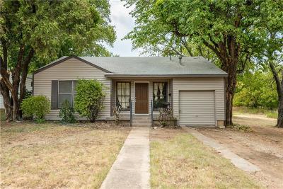 Haltom City Single Family Home For Sale: 3429 Edith Lane