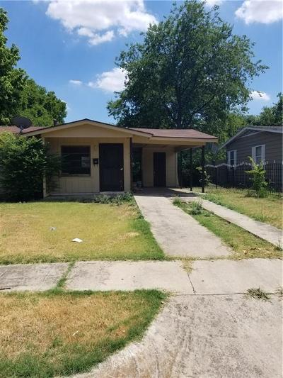Fort Worth Single Family Home For Sale: 1504 38th Street