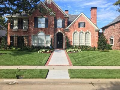 Plano  Residential Lease For Lease: 3005 Paddington Drive