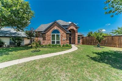 Single Family Home For Sale: 1608 Shady Oaks Lane