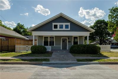 Fort Worth Single Family Home For Sale: 2000 Washington Avenue