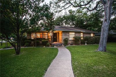 Dallas Single Family Home For Sale: 9935 Galway Drive