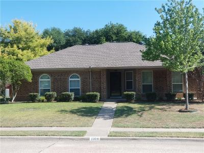 Allen Single Family Home For Sale: 1314 Flameleaf Drive