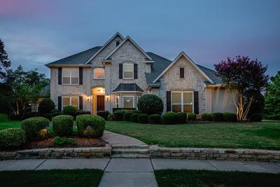 Flower Mound Single Family Home Active Option Contract: 4500 Wisdom Creek Court