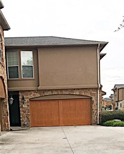 Grand Prairie Townhouse For Sale: 2635 Villa Di Lago #6