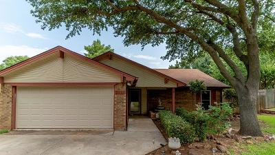 Grapevine Single Family Home Active Option Contract: 2010 W Hood Ridge Court W