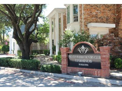 Dallas Condo For Sale: 15914 Stillwood Street #2078