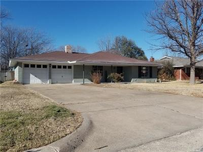 Fort Worth TX Single Family Home For Sale: $190,000