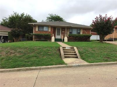 Dallas Single Family Home For Sale: 1176 Oxbow Lane