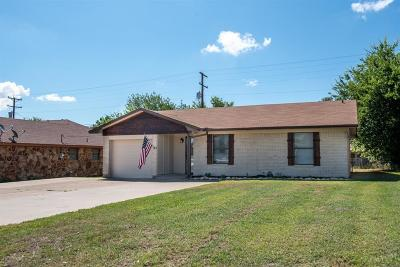 Stephenville TX Single Family Home For Sale: $129,900