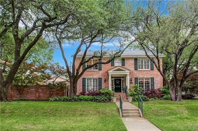 Fort Worth Single Family Home For Sale: 1200 Thomas Place