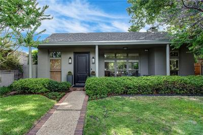 Fort Worth Single Family Home Active Option Contract: 4628 Harley Avenue