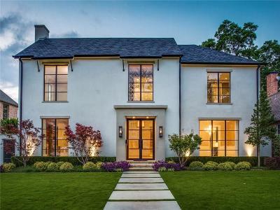 Dallas, Highland Park, University Park Single Family Home For Sale: 2904 Purdue Avenue