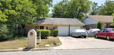 Fort Worth TX Single Family Home For Sale: $70,000