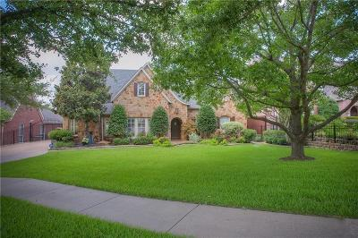 Dallas, Fort Worth Single Family Home For Sale: 6700 W Dover Terrace