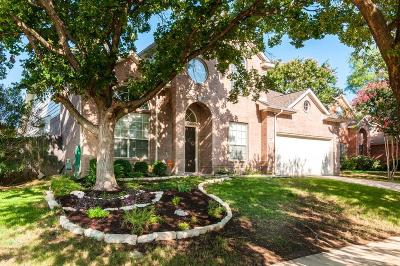 Keller Single Family Home For Sale: 1456 Carriage Lane