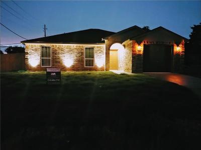 Dallas Single Family Home For Sale: 2803 Pall Mall Avenue