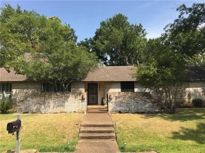 Sherman Single Family Home For Sale: 2605 Turtle Creek Drive