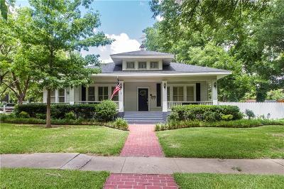Abilene Single Family Home For Sale: 874 Amarillo Street