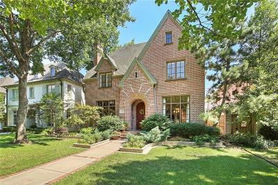 Dallas County Single Family Home For Sale: 3715 Stanford Avenue