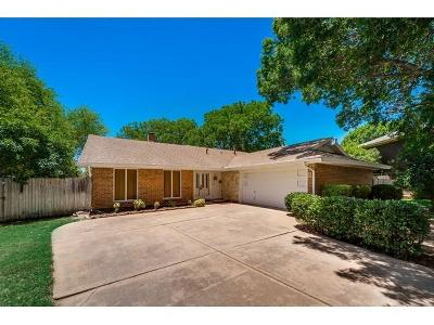 Dallas, Fort Worth Single Family Home Active Option Contract: 9009 Tioga Court
