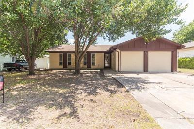 White Settlement Single Family Home Active Option Contract: 8509 Wilbur Street
