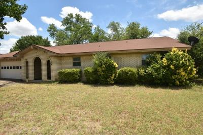 Stephenville Single Family Home For Sale: 1080 W Lingleville Road