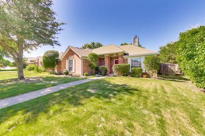 Allen Single Family Home Active Option Contract: 1404 Quail Run Drive