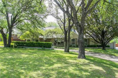 Single Family Home For Sale: 6818 Meadowcreek Drive
