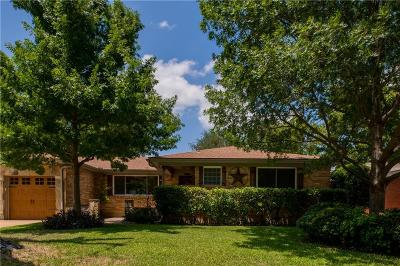 North Richland Hills Single Family Home For Sale: 6729 Victoria Avenue