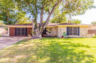 Burleson Single Family Home Active Option Contract: 215 Stefanie Street
