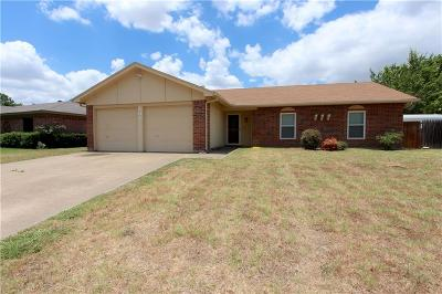 Burleson Single Family Home Active Option Contract: 366 Rand Drive