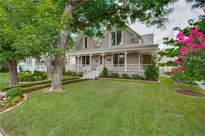 McKinney Single Family Home Active Option Contract: 612 W Hunt Street