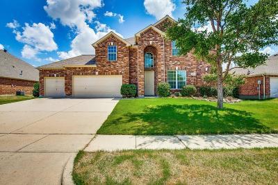 Little Elm Single Family Home For Sale: 2445 Dawn Mist Drive