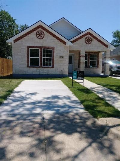 Dallas Single Family Home For Sale: 3730 Bickers Street
