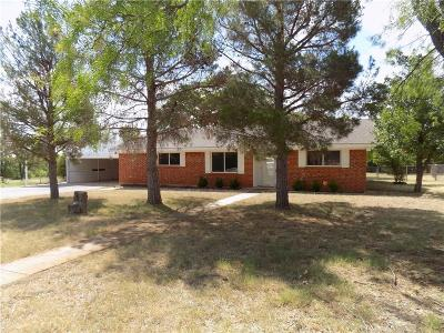 Brownwood Single Family Home Active Option Contract: 2800 Avenue K