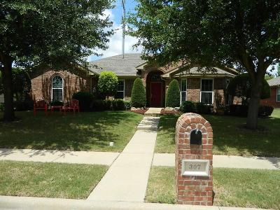 Waxahachie Single Family Home Active Kick Out: 307 Choctaw Trail