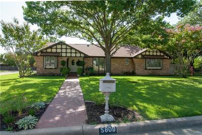 Colleyville Single Family Home Active Kick Out: 5809 Quails Path