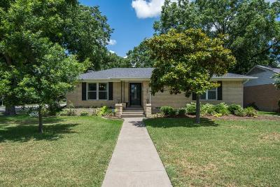 Richardson Single Family Home For Sale: 638 Westwood Drive