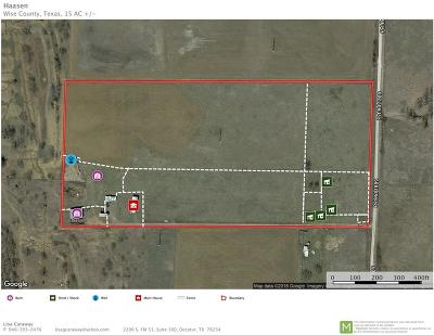 Wise County Farm & Ranch Active Option Contract: 210 County Road 1889