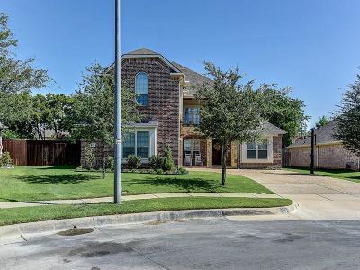 Keller Single Family Home Active Option Contract: 1601 Creekvista Court