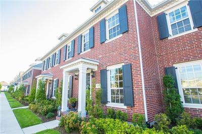 Frisco Townhouse For Sale: 8071 Canal Street
