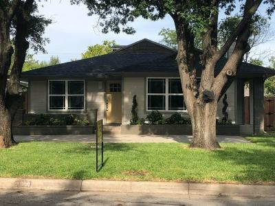 Fort Worth Single Family Home For Sale: 2828 Livingston