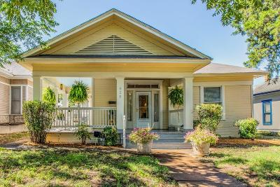 Dallas Single Family Home Active Option Contract: 828 W 8th Street