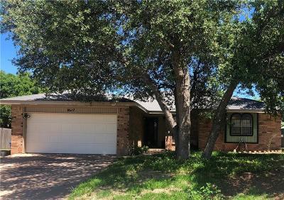 Abilene Single Family Home For Sale: 8017 Weehunt Court