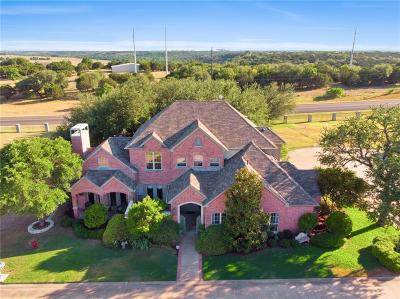 Parker County, Tarrant County, Hood County, Wise County Single Family Home For Sale: 4201 Bluff View Drive