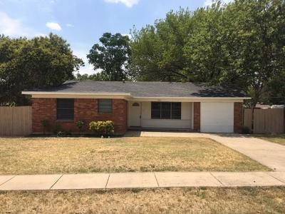 North Richland Hills Single Family Home Active Option Contract: 5101 Nancy Lane